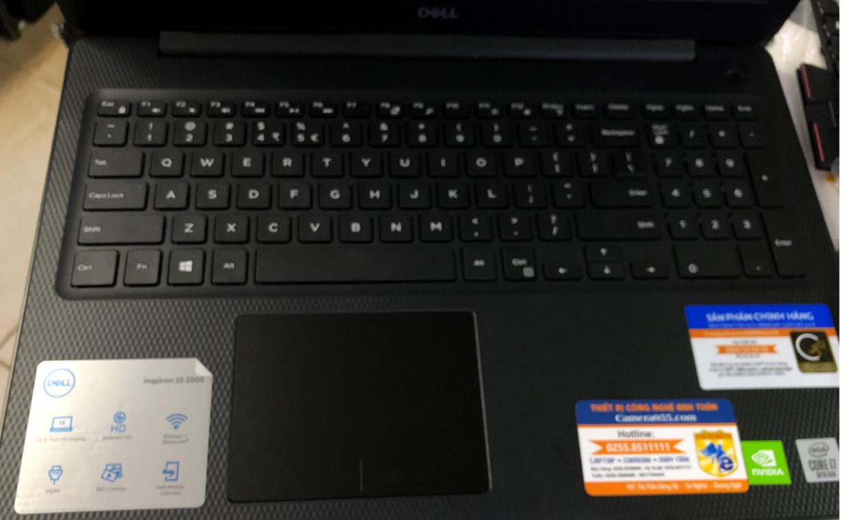 """Laptop Dell Inspiron N3593 i7 1065G7, ram 8Gb, ssd 512Gb, DVDRW, VGA NVIDIA MX230 2gb, màn hình15.6""""FHD, hệ điều hành Windows 10"""